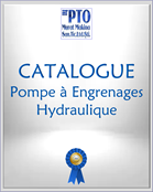 CATALOGUE Pompe à Engrenages Hydraulique